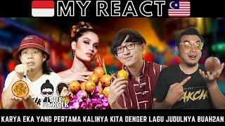 Download lagu BUAH BISA JADI LAGU? KREATIF EKA! Malaysia react to Cinta Laura Kiehl ft Eka Gustiwana - Markisa