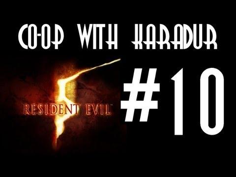 Resident Evil 5 Co-op With Karadur - Part 10: Invincible Tentacle Rape video