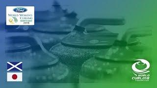Scotland v Japan - Round-robin - Ford World Women's Curling Championships 2018