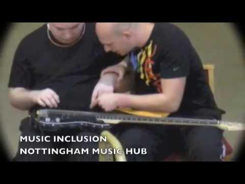 Rosehill School, Nottingham working with Nottingham Music Service Tutors - 03/27/2014