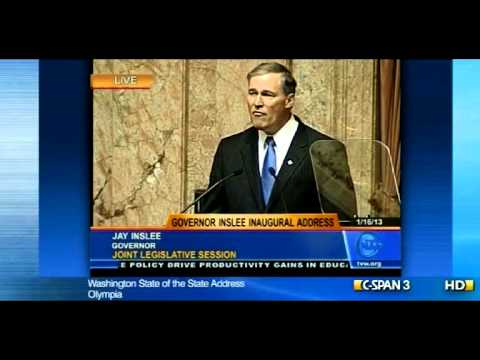 Gov. Jay Inslee's Inaugural Address