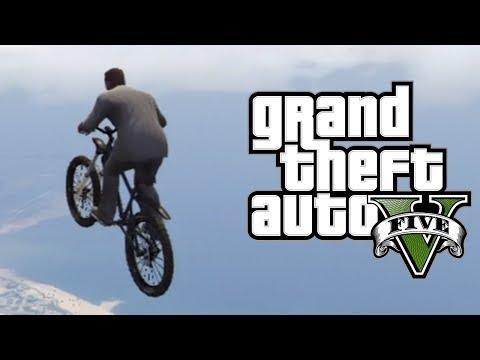 GTA 5 BIKE SUPER JUMP GLITCH! - Bike Teleport / Launch Glitch! [GTA 5 Glitches]