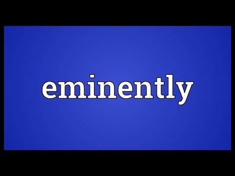 Header of eminently