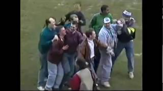 Football Hooligans Birmingham City versus Stoke City 29 Feb 1992