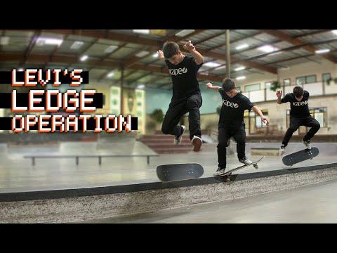 12 Insanely Technical Tricks | Levi's Ledge Operation