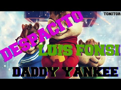 Alvin y Las Ardillas - Despacito - Luis Fonsi ft. Daddy Yankee - Letra ( Video Lyrics )