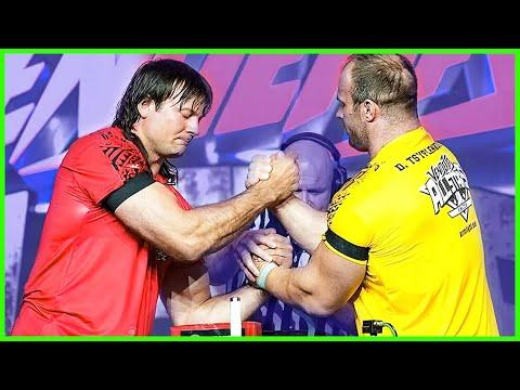 Devon Larratt VS Denis Cyplenkov ARM WRESTLING VENDETTA ARMFIGHT