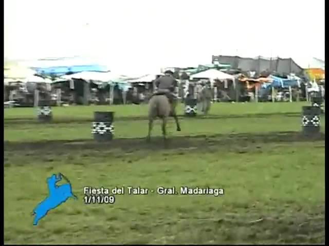 Prueba de destreza Criolla en La Fiesta del Talar- General Madariaga 2011
