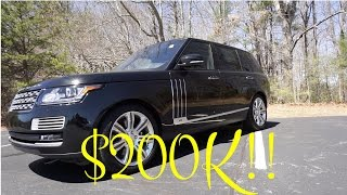 Here's Why The Range Rover SV Autobiography is WORTH $200,000!!