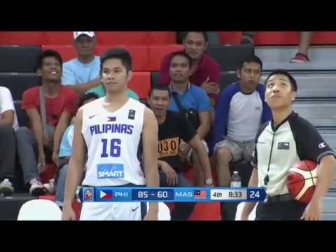 Gilas Pilipinas Cadets vs Malaysia - 4rth Quarter - 5th SEABA Stankovic Cup | May 22,2016