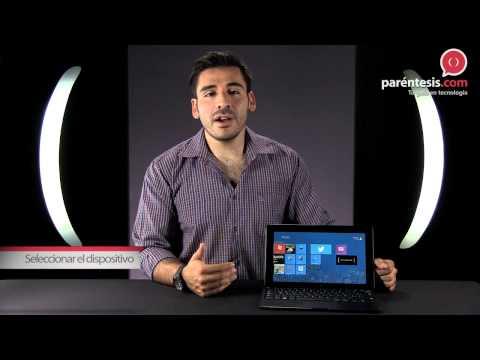 ¿Cómo usar la conexión All Share en Samsung ATIV Smart PC?