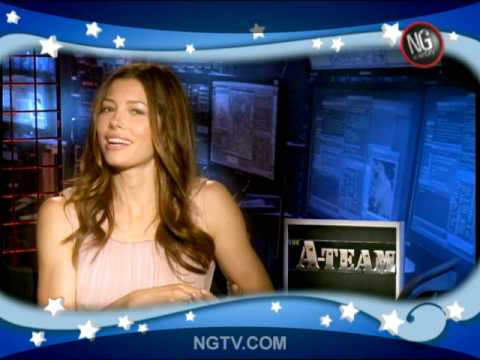 Jessica Biel Uncensored & Funny w/ Liam Neeson, Bradley Cooper & Carrie Keagan