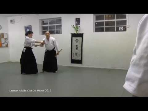 Bokken exercise - morote dori kokyu nage Image 1