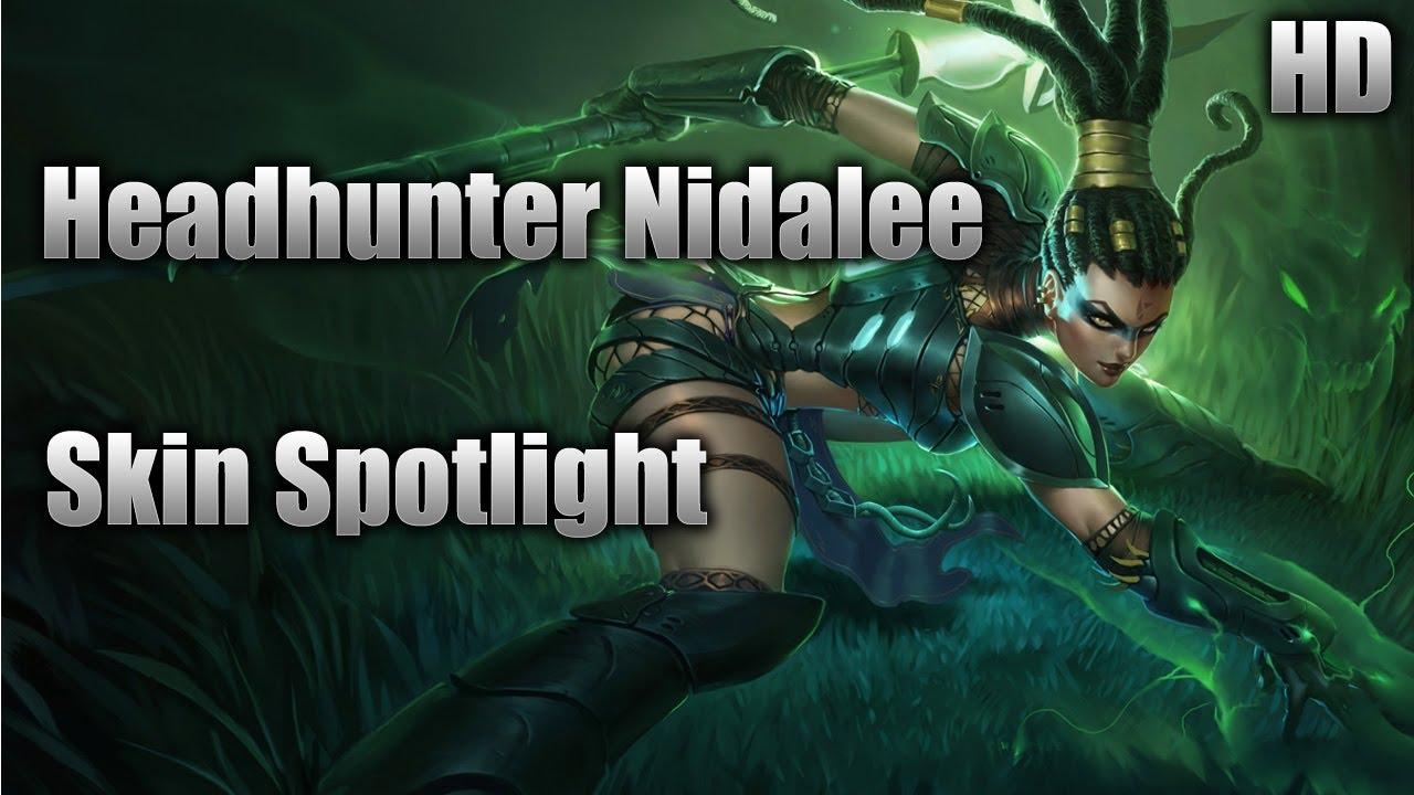 headhunter nidalee skin spotlight youtube