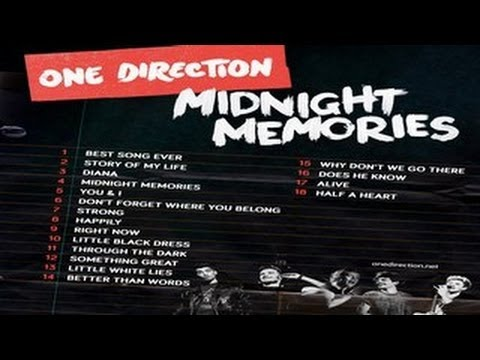 One Direction -- Midnight Memories -- Full Album Leaked video