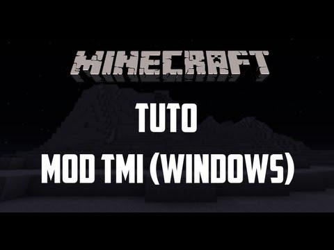 Minecraft - Tutoriel Too Many Items [TMI] 1.5.2 (Windows) [FR]