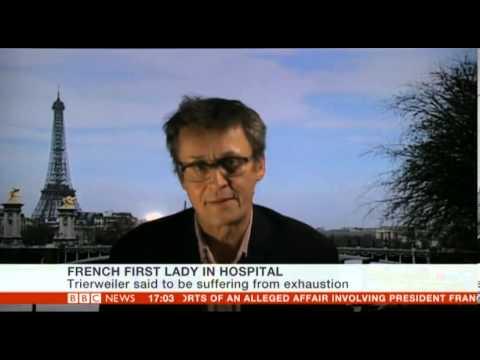 Valerie Trierweiler of  President Hollande in hospital following Julie Gayet revelations