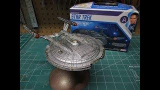 Polar Lights Star Trek NX-01 Enterprise 1/1000 Scale Model Kit Build Review POL966