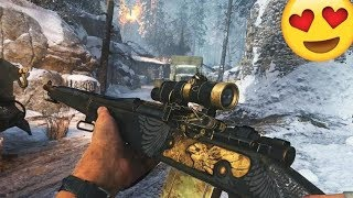 THIS SNIPER IS AMAZING!! (BEST COD WW2 Sniping Gameplay)