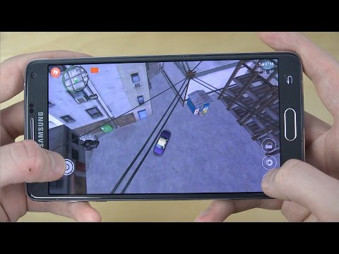 GTA: Chinatown Wars Samsung Galaxy Note 4 Gameplay Review