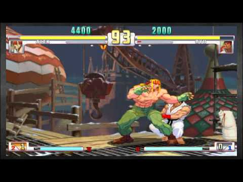 Two Brothers Played the Crap Outta SFIII: Alex (ChidoriSnake) vs Ryu (Kai)