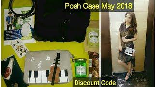 Posh Case May 2018 | Discount Code | 10 Products @1299 | Unboxing & Review |