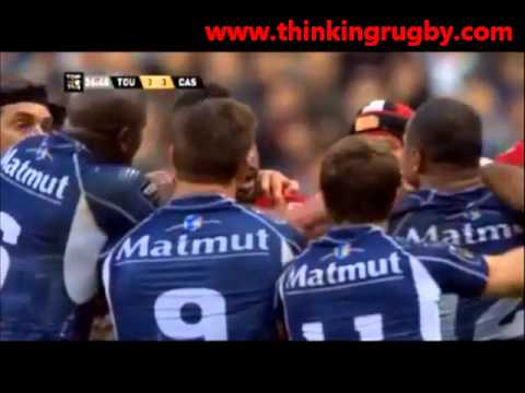 Top14 finale: Castres Olympique vs Toulon highlights