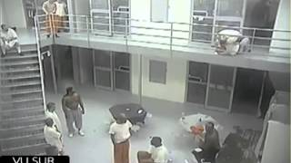 Fighting in the prison