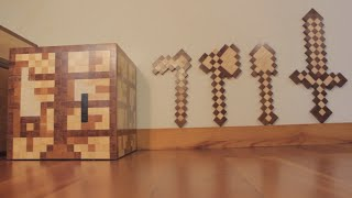 Minecraft Collection - #2 - How to make Wooden Toys