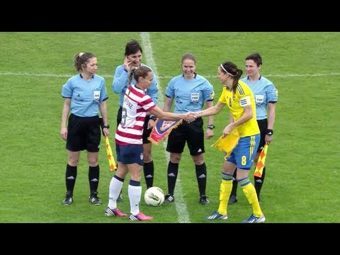 Highlights from the U.S. Women's National Team's 1-1 draw with Sweden. In the WNT's final group stage match at the Algarve Cup, the U.S. fell behind early be...