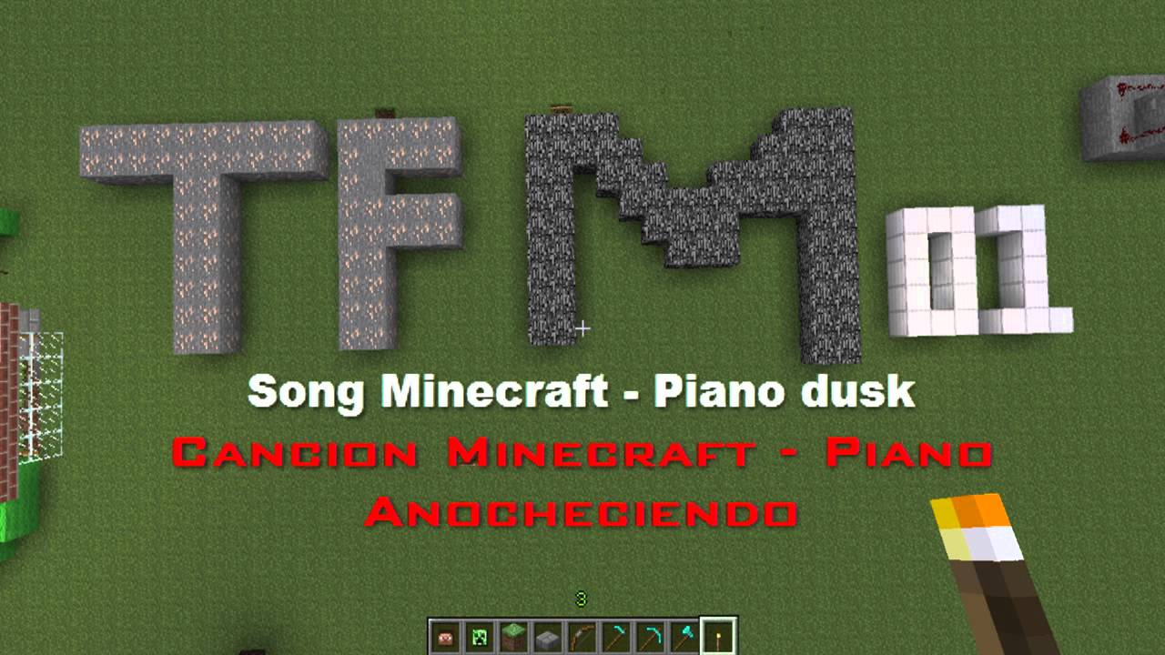 how to make a piano on minecraft