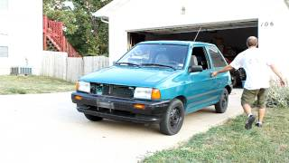 Ford Festiva - Wolo Max Sound 320-2t Horns Installed