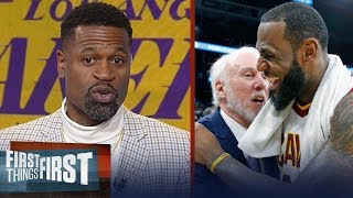 Stephen Jackson on why LeBron fits best with Popovich