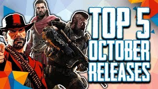 Top 5 October 2018 New Video Game Releases