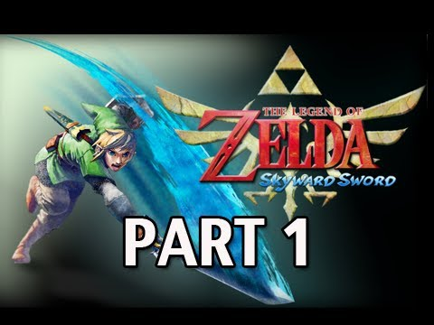 Legend of Zelda Skyward Sword - Walkthrough Part 1 Let's Play HD (Gameplay & Commentary)