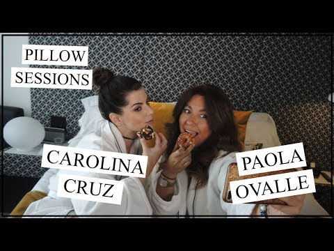 Carolina Cruz en Pillow Sessions