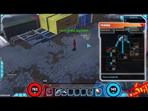 MARVEL HEROES - Skins, Skills e Comentários // Closed Beta MMORPG