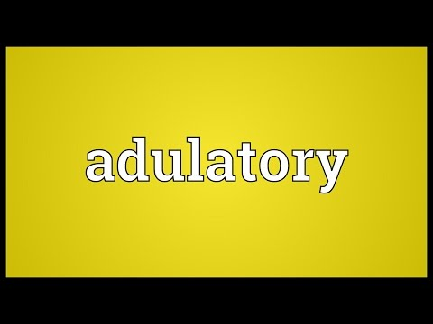Header of adulatory
