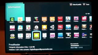 Smart TV Samsung H6200 - test funzioni principali e app Infinity TV