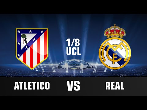 Atletico Madrid vs Real Madrid | UCL 1/8 Promo | 2015 HD