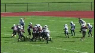Youth Football Highlights 2008 Nick St Clair Age 9 Part B