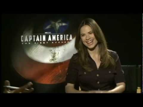Hayley Atwell (Peggy Carter) Talks About CAPTAIN AMERICA: THE FIRST AVENGER