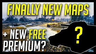 ► New Maps + New Free Premium Tank Event? - World of Tanks 2018 NEWS - Update 1.0.3+