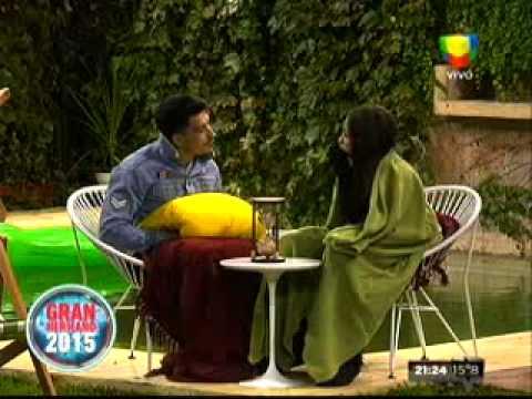 Desopilante charla entre Belén y Nicolás: Ella pensó que él era chileno