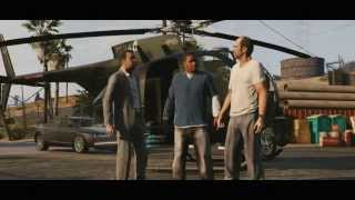 Grand Theft Auto V , GTA V, GTA 5 Official Trailer