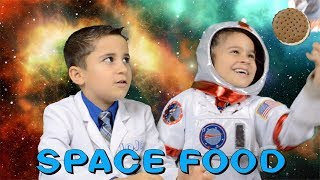 Astronaut Ice Cream - Space Food Sublimation and Freeze Drying