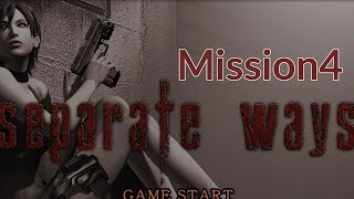 Resident Evil 4 Separate Ways LP Mission 4 - Military Base Madness