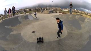 Big Air Stunts with a Traxxas Stampede RC Skateboard Park - Green Valley Ranch