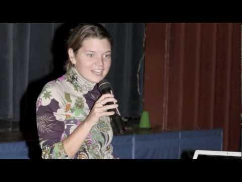 Maggie Doyne Thanks The Peck School - 11/06/2011