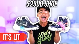 $40 SHOE VS $2500 SHOE!